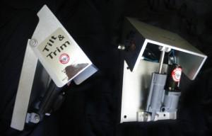 NEW HYDRAULIC TILT & TRIMアクションモデル