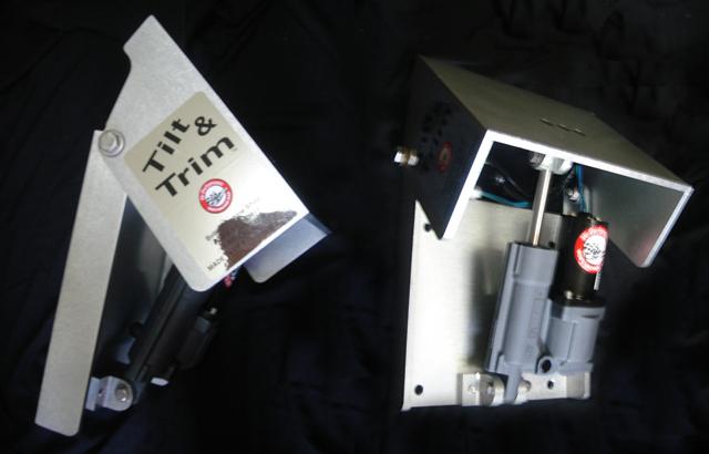 油圧式 パワー チルト&トリム, ポンプ一体型 - アクションモデル