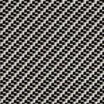 Silver Carbon Fiber w / black base